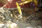 新建化糞池-施工